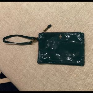 Cole Haan Jitney Medium Zip Pouch Patent Leather